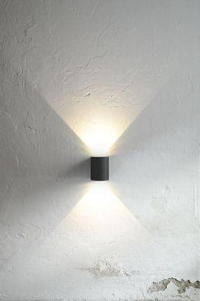 Canto 6W LED Vegglampe - Lightup.no - Nettbutikk med belysning, utebelysning og utelamper