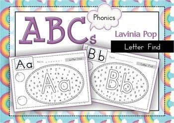 find a letter letter detective by robinson tpt letter find uppercase and lowercase 335