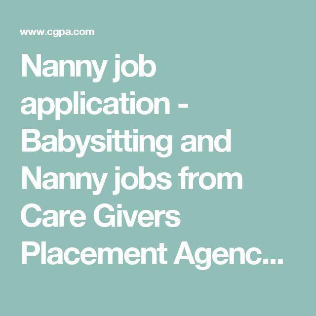 best 20 nanny jobs ideas on pinterest nanny binder summer nanny jobs and babysitting jobs. Black Bedroom Furniture Sets. Home Design Ideas