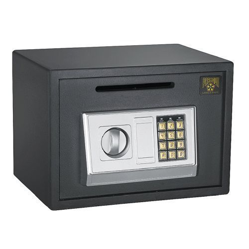 Keypad Home Safe Fireproof Security Wall Water Theft Proof Electronic Key Lock Keypadhomesafe