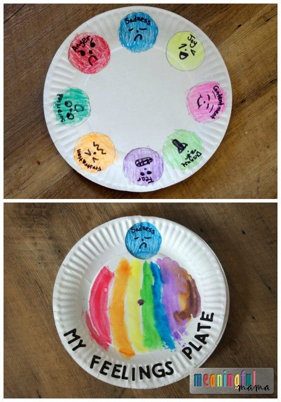 This activity allows the child to identify the current emotion that they are feeling, and utilize paint to create lines to the picture of their emotion. By utilizing paint and other supplies the child's attention redirected and hopefully will allow the child to self regulate themselves.