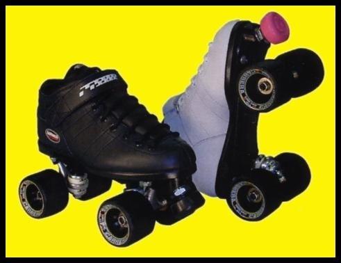 Tennis Shoe Quad Skates