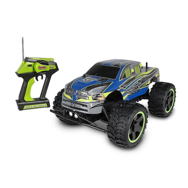 Nkok Mean Machines Radio Control Dodge Ram 2500 Power Wagon Vehicle, Multicolor