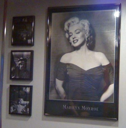Inside The 5 U0026 Diner. #Marilyn #Monroe #decor #restaurant #50u0027s #diner |  Restaurant Decor | Pinterest | 50, Restaurant And Marilyn Monroe
