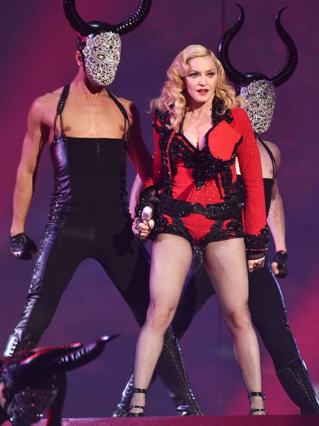 Madonna, 56, Slays the Grammy Awards With Her Performance of ''Living for Love''!  Madonna, Grammy Awards, Performance