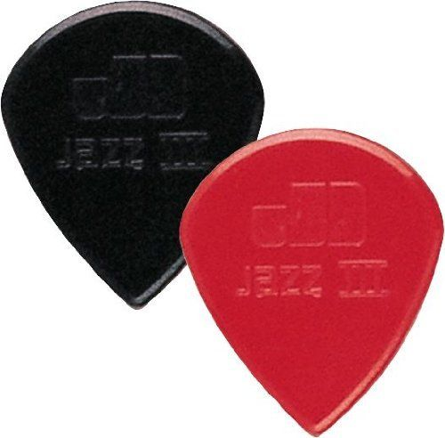 Dunlop Jazz III Pick 6-Pack, Black Stiffo, 1.38mm by Jim Dunlop. $2.95. Dunlop Jazz III Black Stiffo Sharp 1.38, pack of 6, 47P3S
