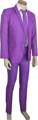 SMALL-Mens-Purple-Pimp-Suit-Costume-Party-Outfit-Stand-Out-Joker-Suit-Fashion