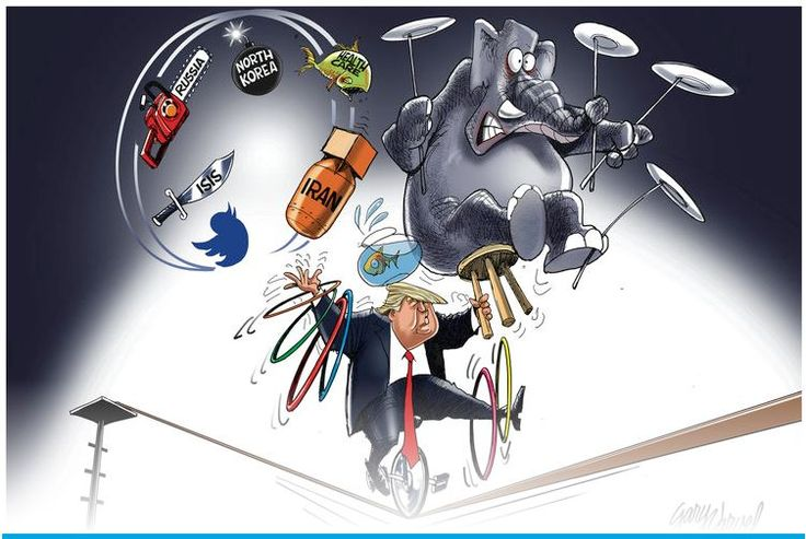 It has been a busy week for our President  Gary Varvel Comics Our President at work while his own party works against him.  Ben Garrison cartoons: We must stand behind our President for the greater good, draining the swamp.   Meanwhile, the English-speaking Norwegian media needs a...