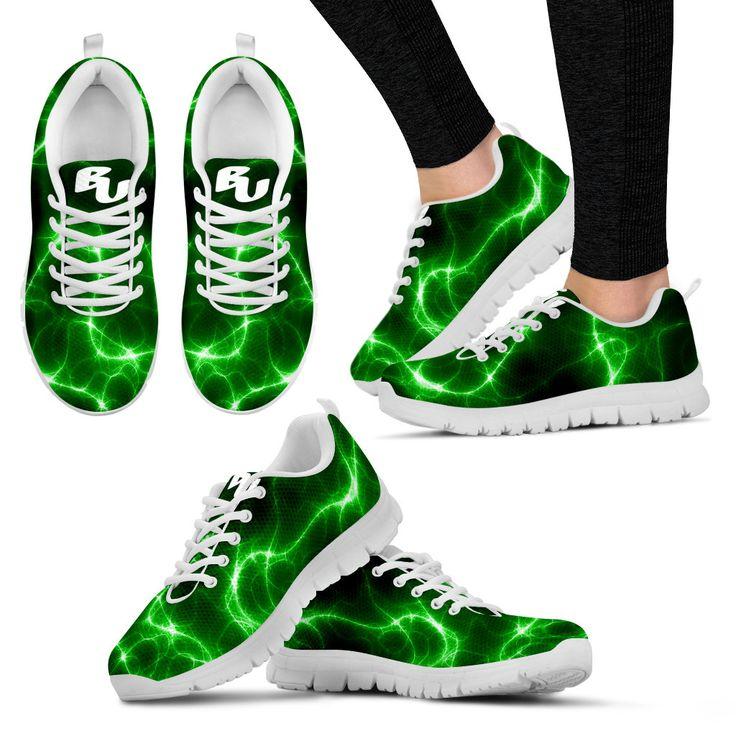 BU - Green Flash Women's Running Sneakers