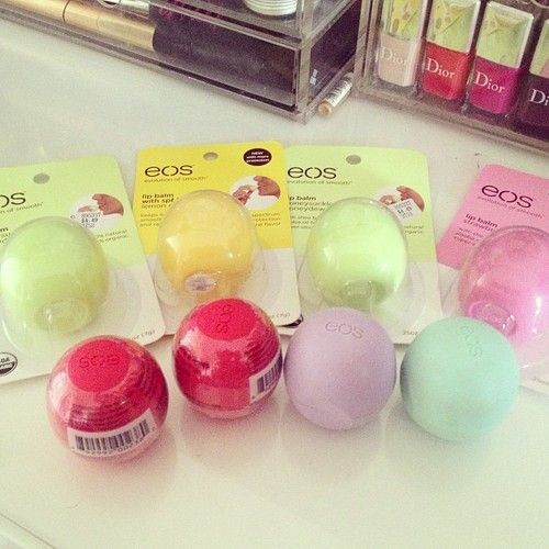 I have basically all the eos except for some of the limited edition ones. I just love them so much.