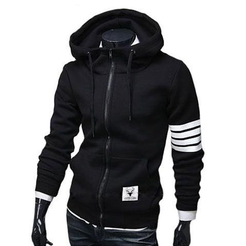 Casual Zipper Hooded Jacket