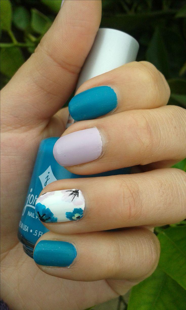 Un nail art para invierno
