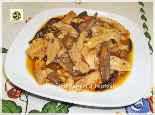 Trippa ricetta alla boscaiola Blog Profumi Sapori & Fantasia