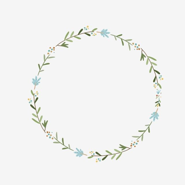 Hand Drawn Green Leaf Ring Design Element Greenery Clipart Hand Painted Korean Style Png Transparent Clipart Image And Psd File For Free Download Leaf Ring Design Floral Border Design Floral Logo
