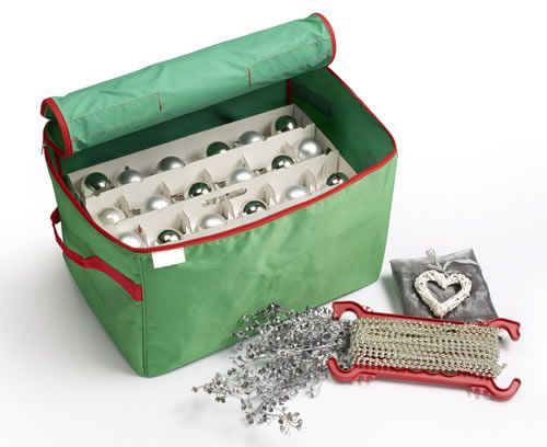17 best christmas images on pinterest storage boxes Christmas bauble storage