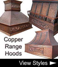 Copper Kitchen Range Hood (to match my sink) #RangeHoods