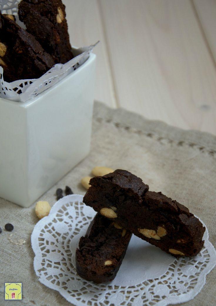 tozzetti al cioccolato e mandorle