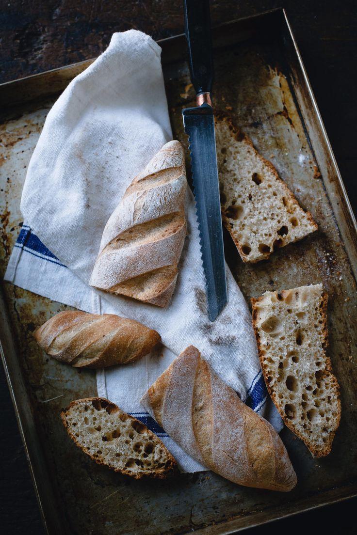 Mini baguette con miscela di grani antichi a lievitazione naturale - Con le mani in pasta