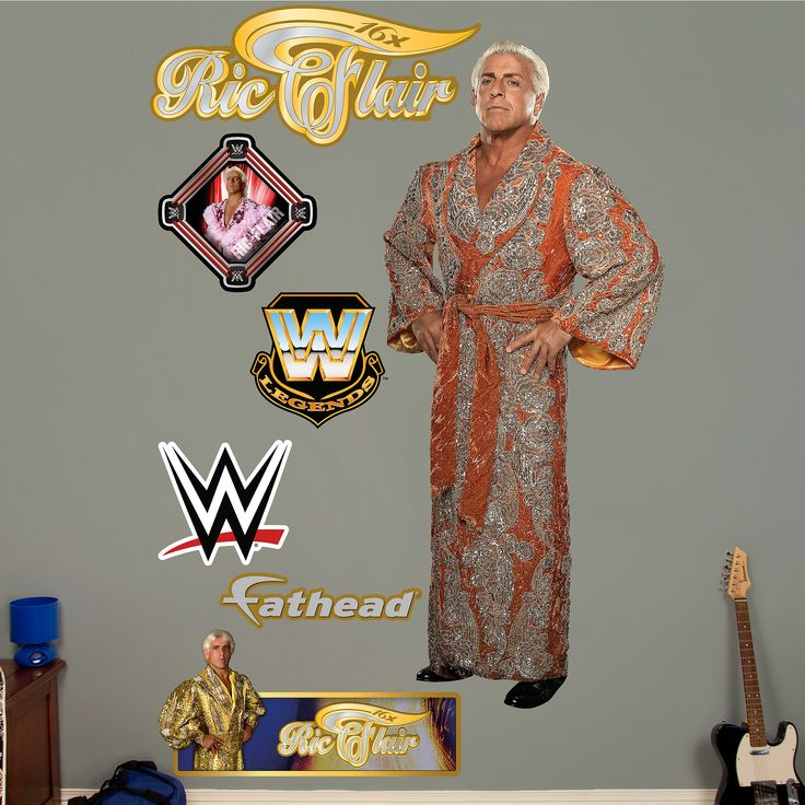 WWE Ric Flair Peel And Stick Wall Decal