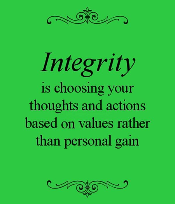 1000+ images about Live with integrity on Pinterest | Do what ...