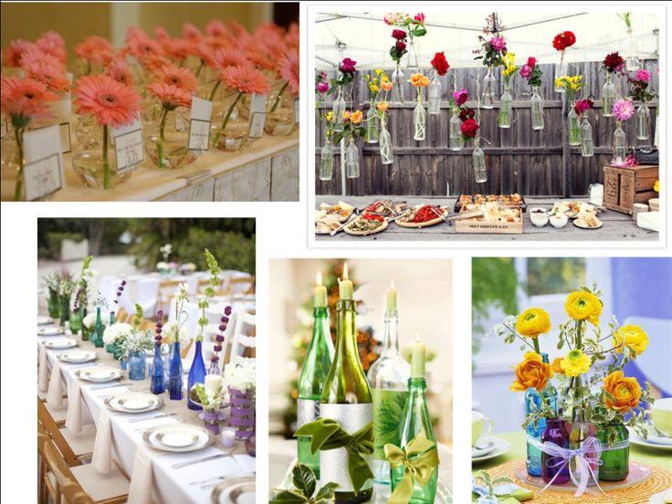 Confira de seguida várias fotos de decoração de casamentos simples e comece já a tirar ideias para deixar o local do seu casamento lindo e perfeito.