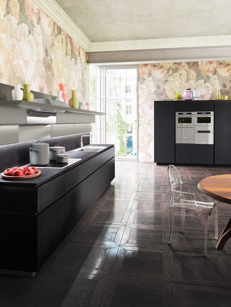 95 best kitchens images on Pinterest Contemporary kitchens - küche ohne griffe