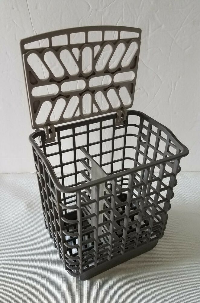Small Replacement Dishwasher Cutlery Silverware Basket With Lid 5 5 X 5 X 4 Unbranded Basket Plastic Laundry Basket Silverware