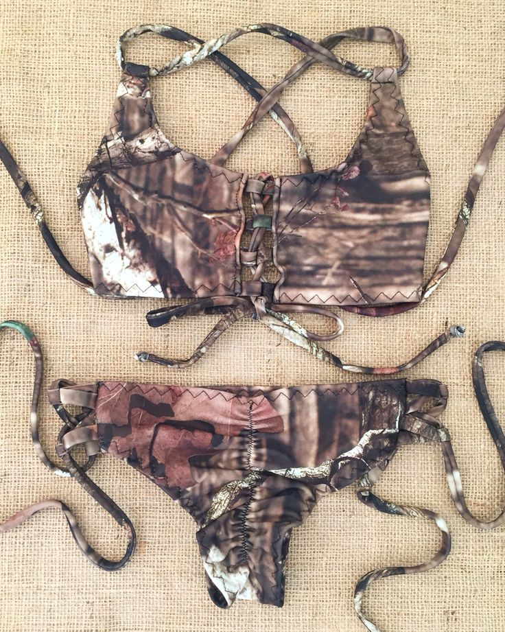 Camo lace up nani bikini swimsuit email nanibikini@gmail.com to order