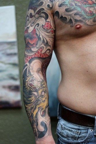 japanese-dragon-water-tattoo