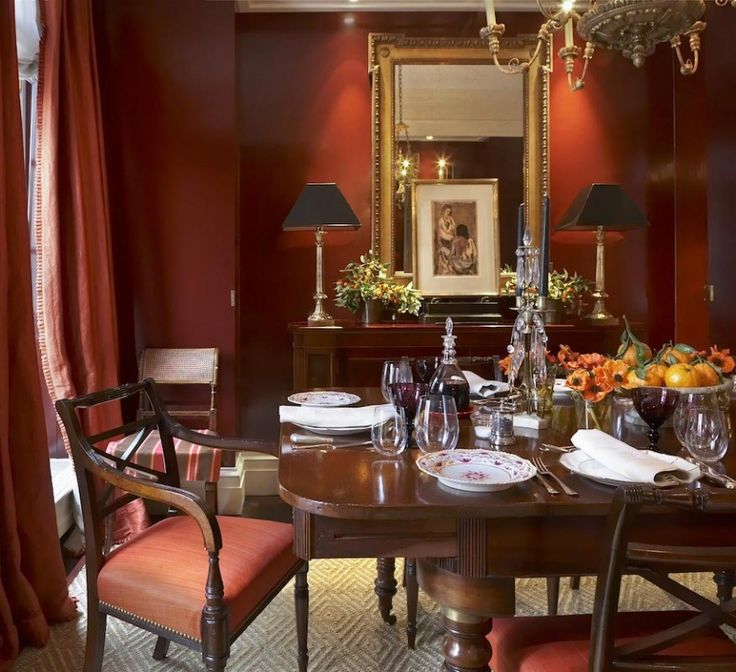 Warm Dining Room Colors: Love Me A Warm Color Scheme But Is It Going To Look Dated