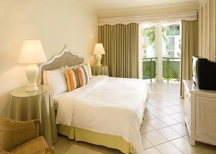 Beautiful, elegant rooms at the all inclusive resort of Mango Bay in Barbados