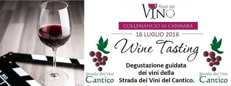 Festa del Vino di Collemancio, degustazione guidata dei vini della Strada dei Vini del Cantico