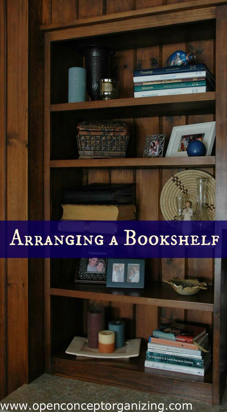 How To Arrange A Bookshelf (without An Interior Design Degree)