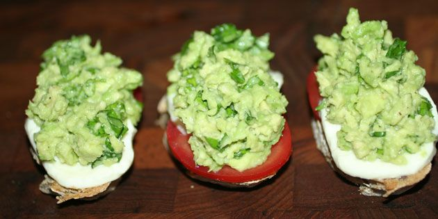 Bruschetta med avocado