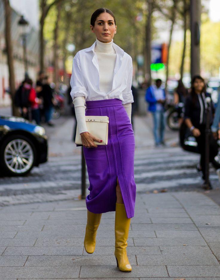 Inspírate en estos looks e incorpora en tus looks el color del año: ¡Ultra Violet!