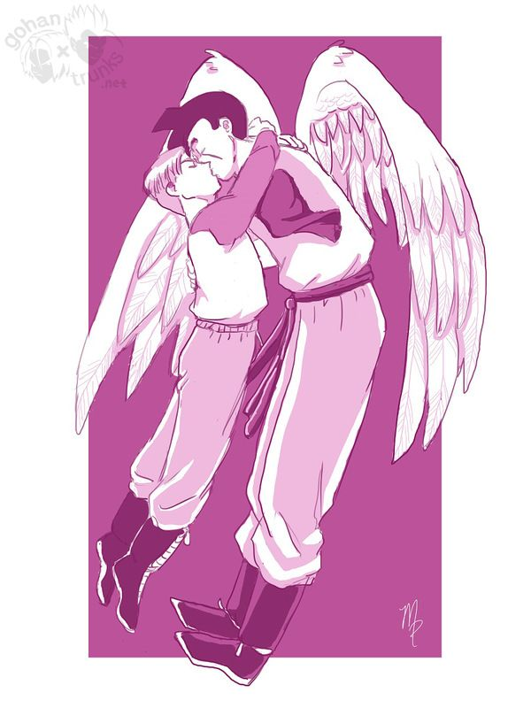 Stay With Me Gohan-san - Boxer & Rice: DBZ Yaoi Fanfiction & Fanart Archive For All Pairings