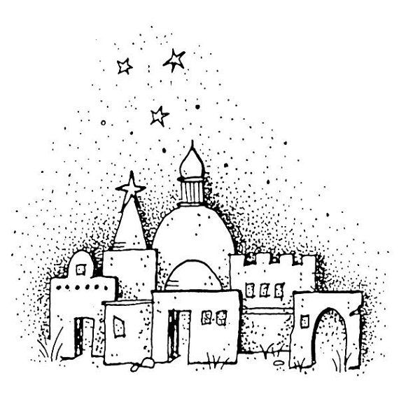 83 best jesse tree images on pinterest christmas nativity set rh pinterest com o little town of bethlehem clipart A Star Is Born Clip Art