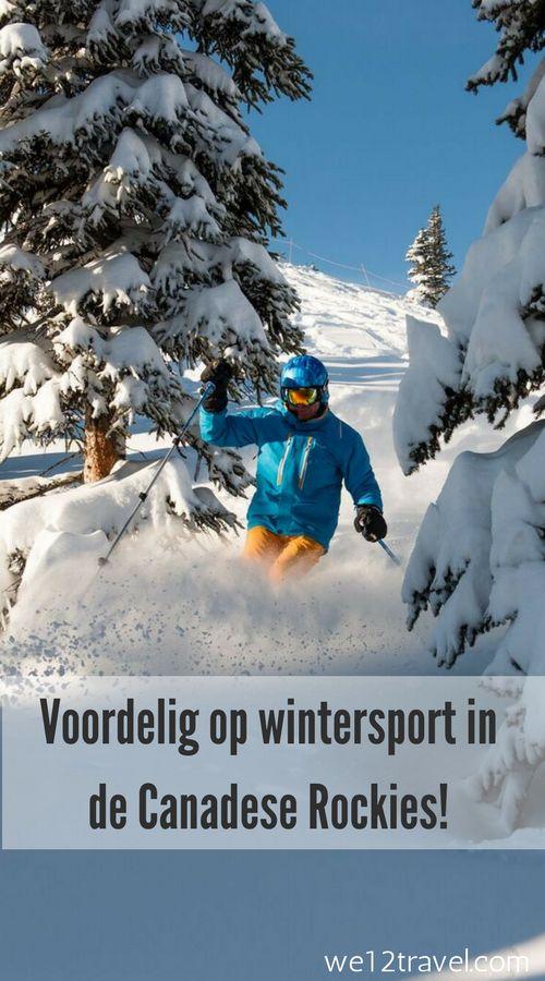 Voordelig op wintersport naar de Canadese Rockies? Dat kan? Op mijn blog vind je hoe, wat en waar!