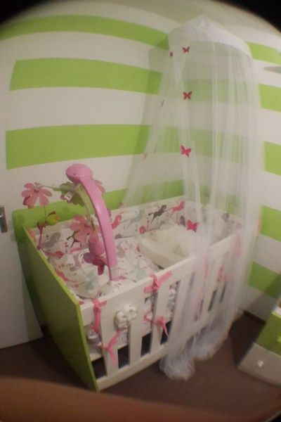 Clever Little Monkey Cot And Bamboo Mattress For Bed Time Cots