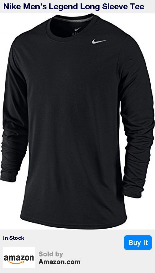 The Nike Legend Poly Long-Sleeve Men's Training Shirt features a classic design with Nike Swoosh logo * Features 100% polyester fabric that pulls sweat away from the skin during intense workouts. * Rib crew neck with interior taping for comfort * Dri-FIT fabric to wick sweat away and help keep you dry and comfortable * Long sleeves for extra coverage in cooler conditions