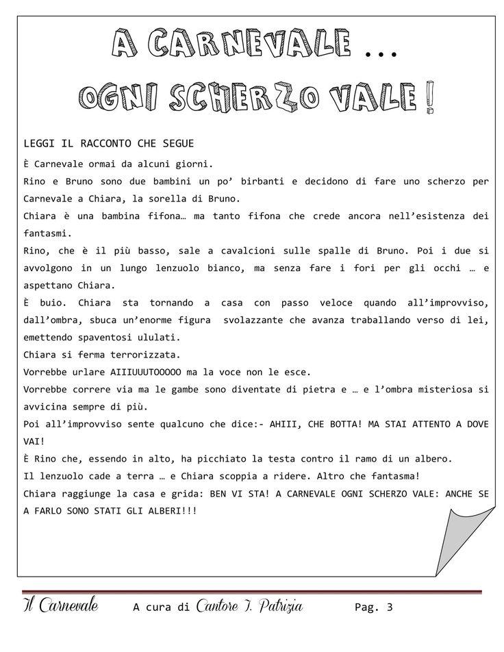 Percorso didattico  - Carnevale | PDF to Flipbook