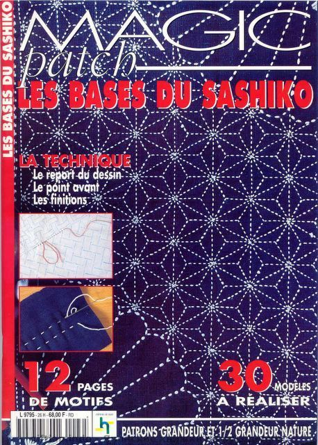 Magic Patch Les Bases Du Sashiko - Kim Parker - Picasa Web Albums - entire book 109 pages