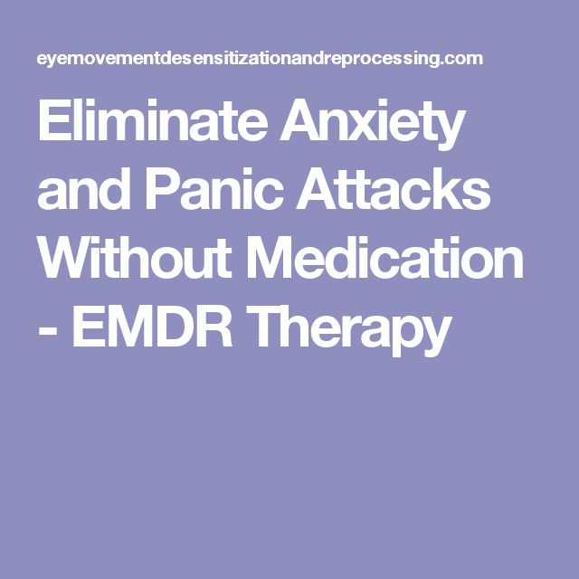 how to stop an anxiety attack without medication