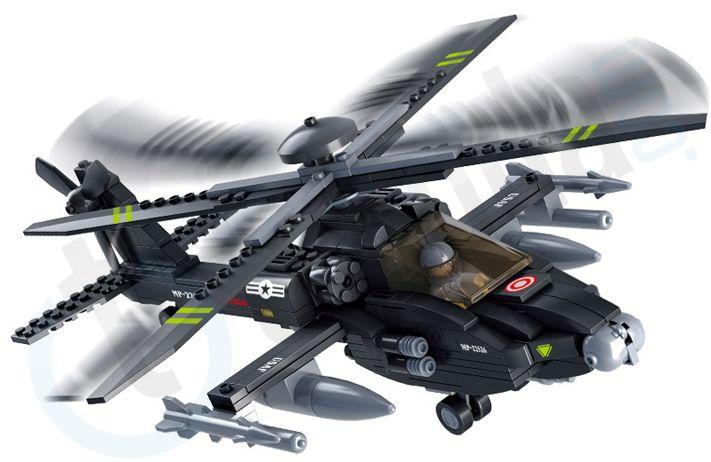 Sluban M38-B0511 Apache Helicopter Gunships. Do you like it ? See more www.takuda.com.
