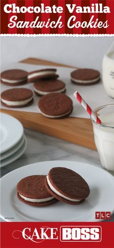 A classic flavor combo — with a thin crispy chocolate cookie and a sweet vanilla filling, not only are these sandwich cookies iconic but they are also addicting. Grab a tall glass of milk or almond milk and start dunking! Click on the image for our Chocolate Vanilla Sandwich Cookie recipe.