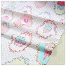 50 см x 150 см, Цветок серии хлопчатобумажная ткань, Своими руками ручной работы пэчворк хлопок ткань текстиль для дома, B-094(China (Mainland))