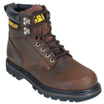 CAT Men's Brown 6 Inch Climasphere 72593 EH Work Boots