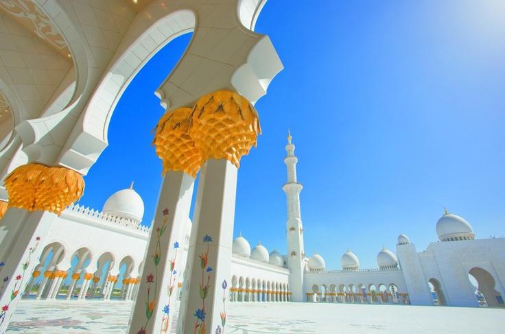 Mezquita de Sheikh Zayed, Abu Dhabi, Emiratos Árabes Unidos