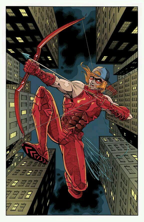 открытки, красная стрела арты нее женщина