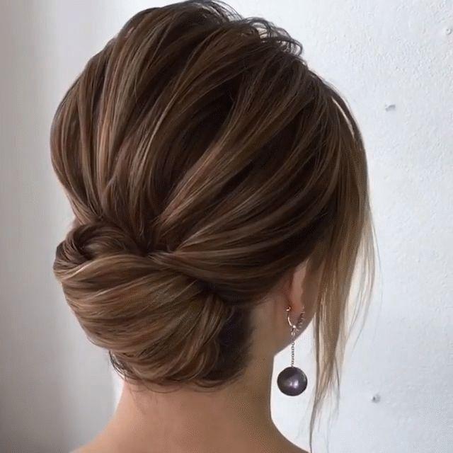 le chignon flou - coiffure de mariage 2019 : des modèles